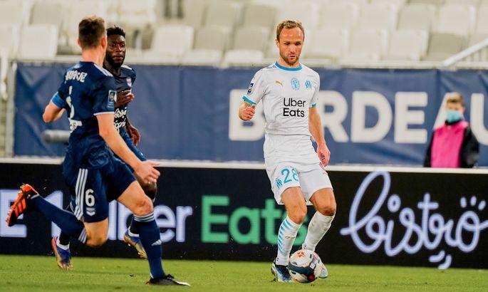 Лига 1. Бордо - Марсель 0:0. Провансальцы выстояли вдевятером