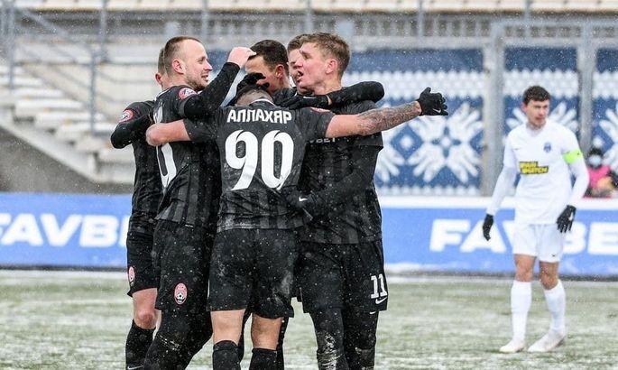 Заря одержала 200-ю победу в УПЛ, Хомченовский провел 200-й матч за луганчан