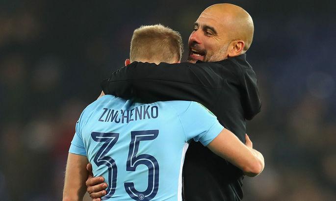 Гвардиола: Мы могли продать Зинченко, но он сказал, что хочет бороться в Сити