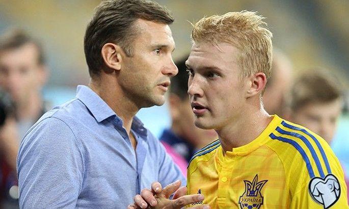 Шевченко: Важливо, щоб наші гравці їхали і чіплялися в сильних чемпіонатах