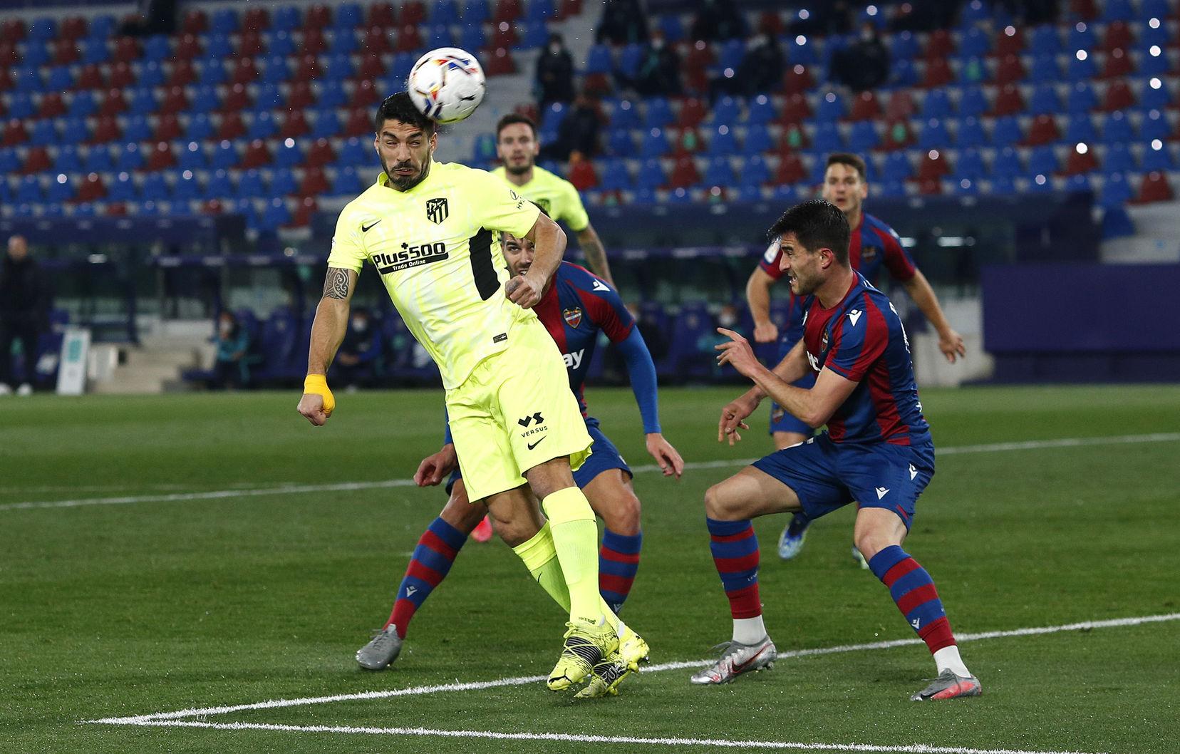 Прімера. Перенесений матч 2-го туру. Атлетико втрачає очки на полі Леванте - изображение 1