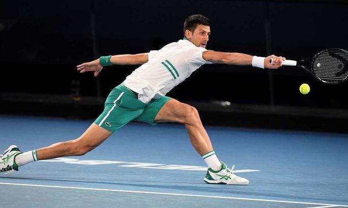 Новак Джокович вышел в четвертьфинал соревнований