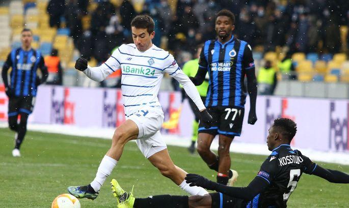 УЕФА не будет переносить ответный матч между Брюгге и Динамо