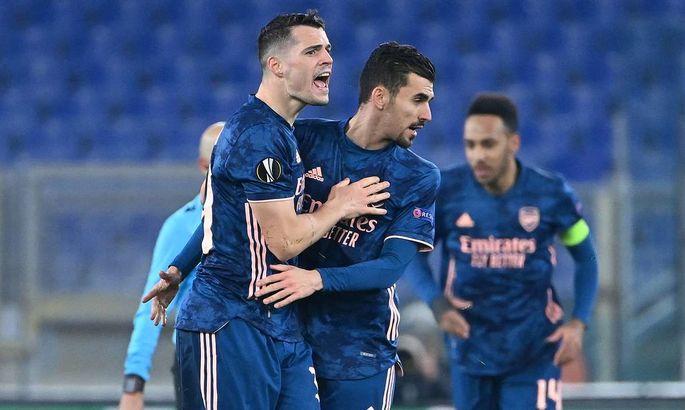 Лига Европы. Бенфика - Арсенал 1:1.Матч-знакомство