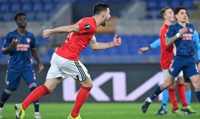 Ліга Європи. Бенфіка – Арсенал 1:1. Матч-знайомство - изображение 1