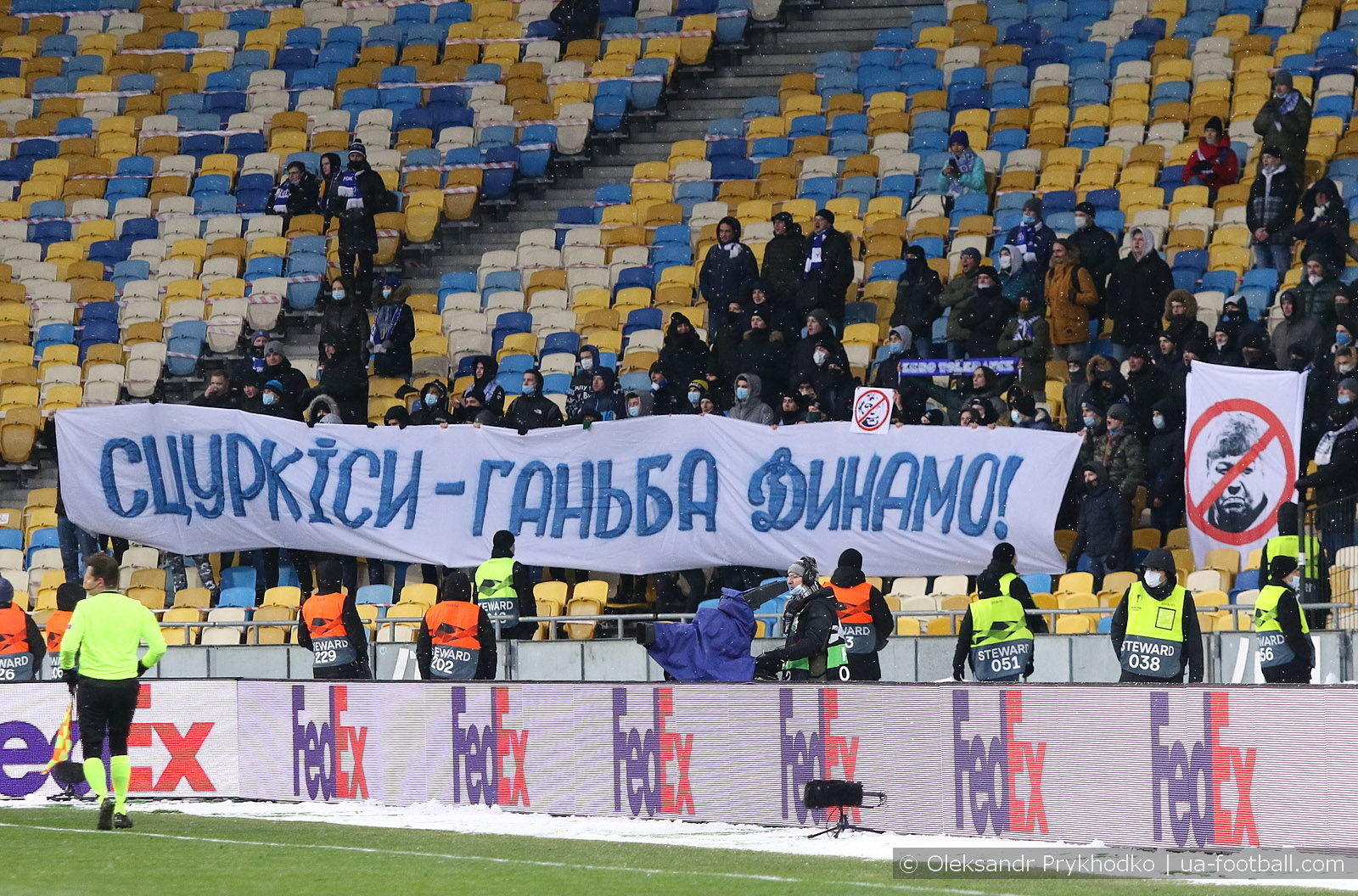Ничья на фоне протеста. ФОТО репортаж с матча Динамо - Брюгге - фото 13