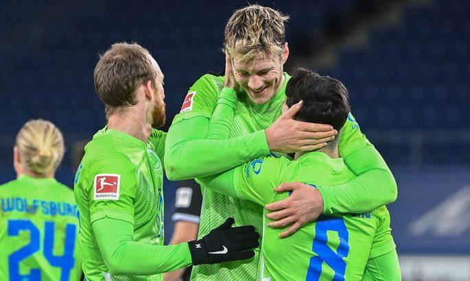 Бундеслига. Вольфсбург сделал еще один шаг к возвращению в Лигу чемпионов