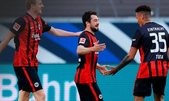 Франкфуртський Айтрахт повторив своє досягнення за кількістю голів поспіль 44-річної давнини