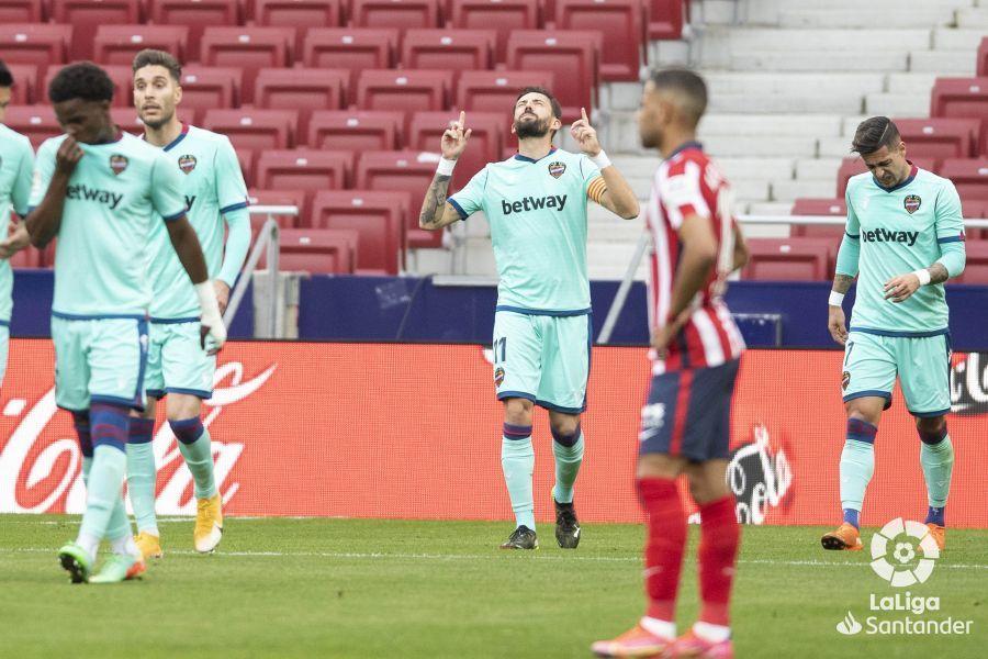 Інтрига повертається? Атлетико програв Леванте на своєму полі - изображение 1