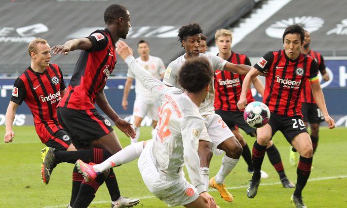 Айнтрахт - Бавария 2:1. Обзор матча и видео голов