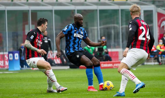 Серия А. Милан - Интер 0:3. Без Бога, с двумя королями
