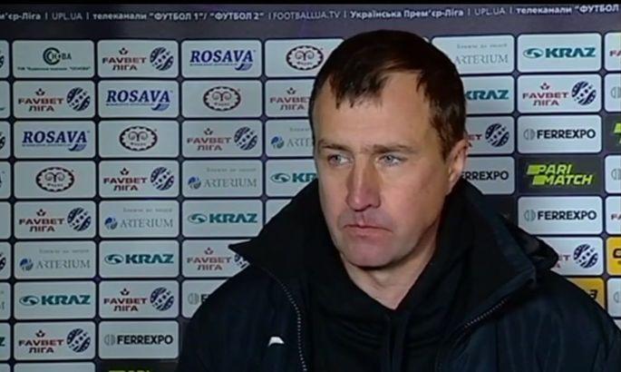 Лавриненко: У матчі з Ворсклою нам не вистачило везіння і концентрації в певних моментах
