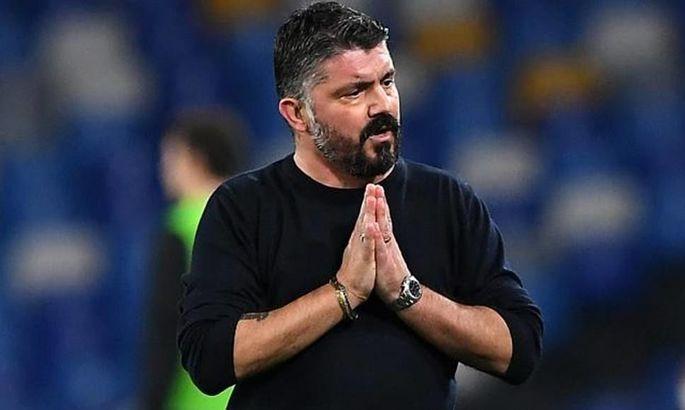 На пресс-конференцию никто не пришел: боссы Наполи запретили Гаттузо и футболистам давать интервью