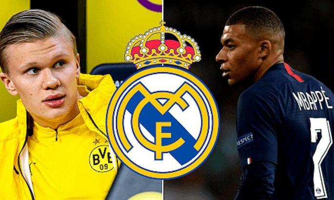 Почти миллиард евро, но зато 6 лет вместе: в AS сообщили о деталях будущих сделок Реала с Холандом и Мбаппе