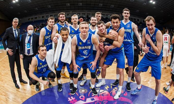 Сборная Украины впервые за 24 года выиграла отборочную группу к Евробаскету