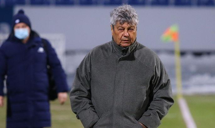Луческу: У нас молодые игроки, Динамо учится и становится профессиональнее