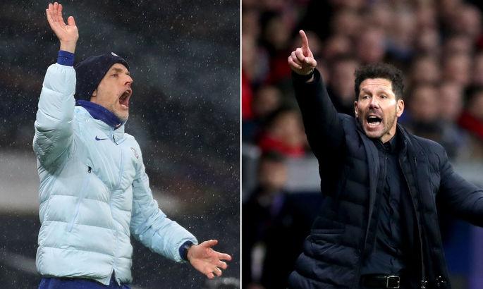 Про інвестиції та випробування: Тухель та Сімеоне поділилися очікуваннями від матчу Атлетіко – Челсі