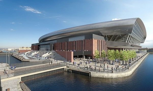За счет нового стадиона Эвертона в городе Ливерпуль оживут полуразрушенные доки