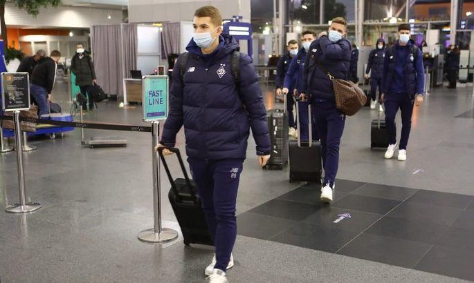 Динамо прибыло в Брюгге