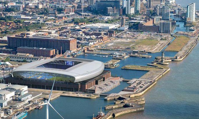 За счет нового стадиона Эвертона в городе Ливерпуль оживут полуразрушенные доки - изображение 1