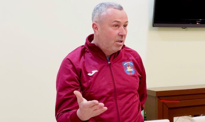 Никополь представил нового главного тренера