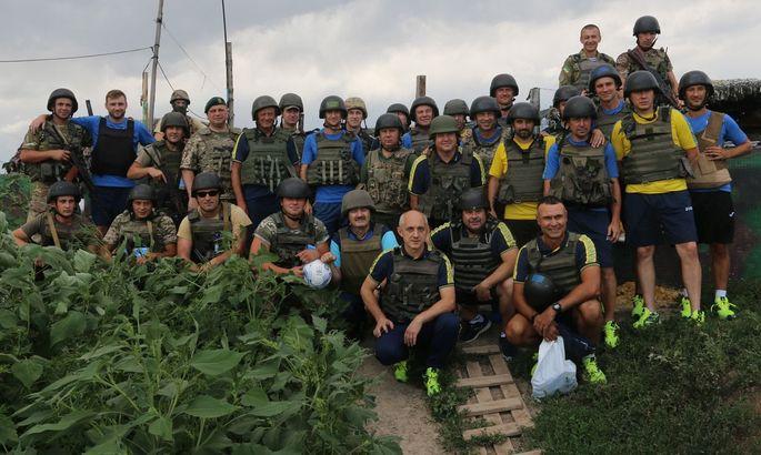 Собуцкий: Звезда сборной ветеранов взойдет на Донбасс-Арене. Задача сложная, но мы верим в ее осуществление