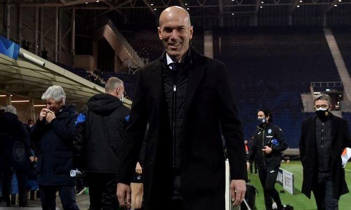 Зідан: Реал був не ідеальний, але зумів забити в Бергамо - це головне
