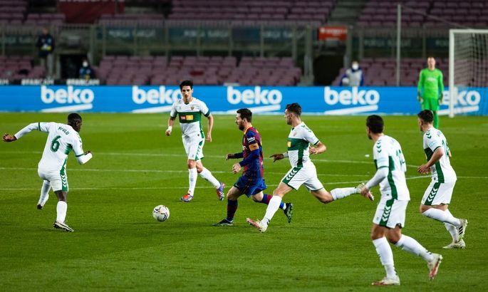 Потенциал конвертируется в реальные дивиденды. Барселона - Эльче 3:0. Обзор матча и видео голов