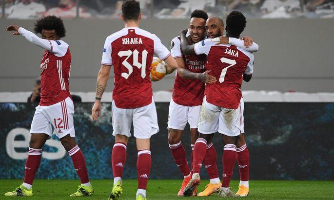 Шикарні голи не рятують португальців від вильоту. Арсенал – Бенфіка 3:2. Огляд матчу, відео голів