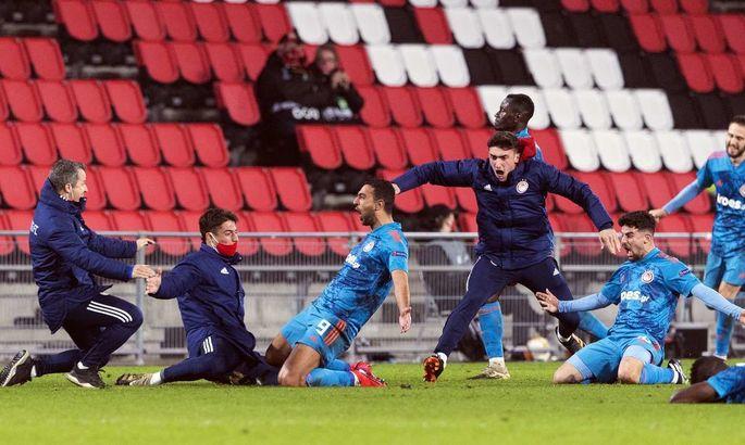 Лига Европы. ПСВ - Олимпиакос 2:1. Качели в Нидерландах