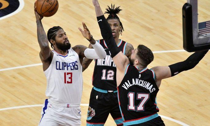 НБА: Мемфис разгромил Клипперс, победы Вашингтона и Бруклина