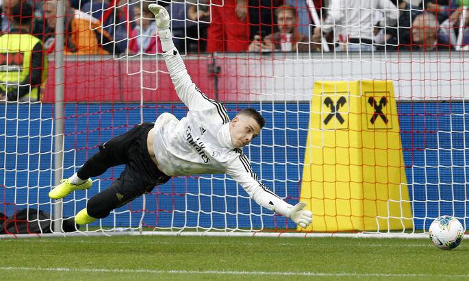 Fichajes: Андрей Лунин принял твердое решение покинуть мадридский Реал летом