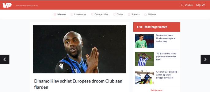 Динамо Киев разрушает европейскую мечту Брюгге. Обзор бельгийской прессы после матча ЛЕ - изображение 1