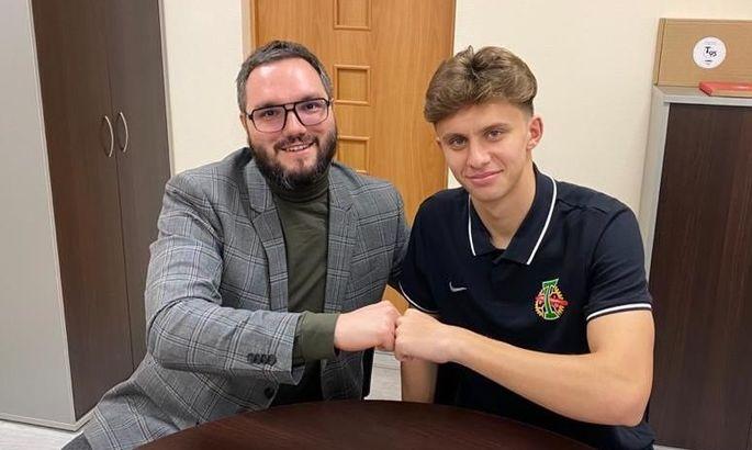 Хавбек молодежной сборной Украины подписал контракт с  московским Торпедо