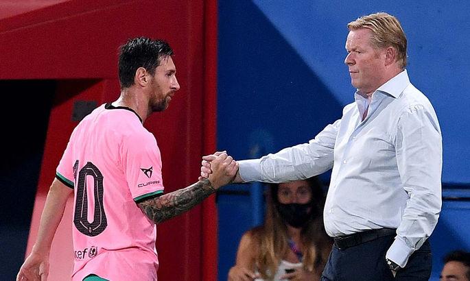 Куман призвал игроков Барселоны помогать Месси