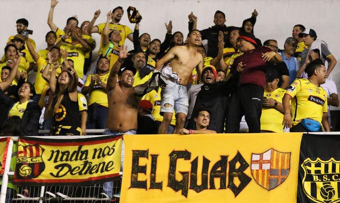 Барселона из Эквадора, Бока из Гибралтара, Ливерпуль из Уругвая. Двойники больших клубов - изображение 1