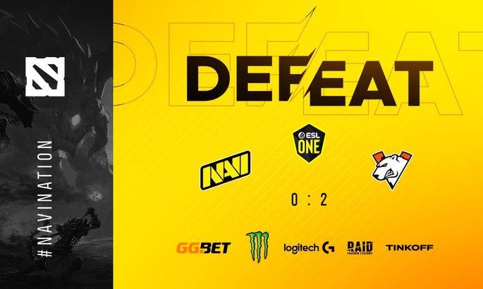 Natus Vincere проиграли Virtus.pro и начнут мейджор со стадии группового этапа