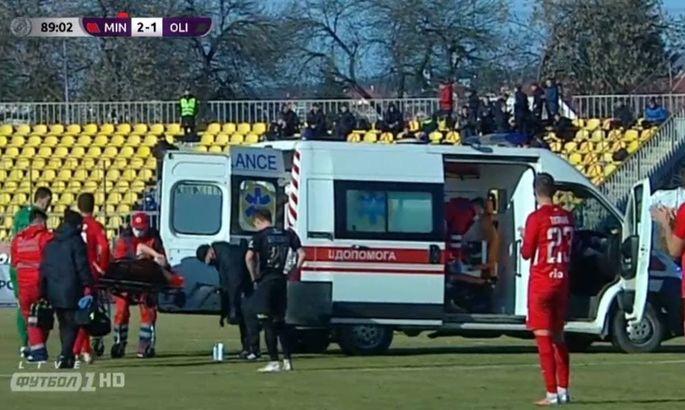 У хавбека Олимпика Цымбалюка перелом и разрыв. Игрок выбыл до конца сезона