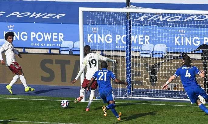 Лестер - Арсенал 1:3. Волевая победа и один из лучших матчей канониров в сезоне - изображение 1