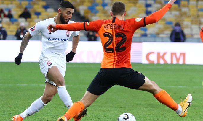 Матвієнко провів 100-й поєдинок за Шахтар