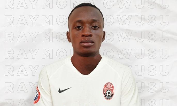 Заря объявила о подписании ганского футболиста