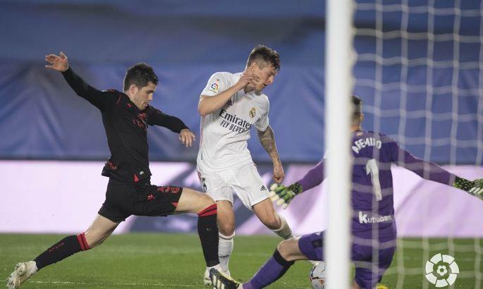 Примера. 25-й тур. Реал - Реал Сосьедад 1:1. Иллюзии против реальности