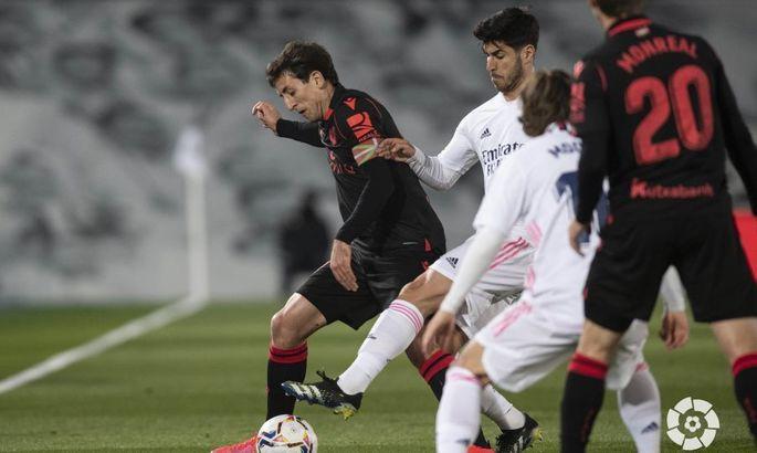 Осечка перед мадридским дерби. Реал - Реал Сосьедад 1:1. Обзор матча и видео голов