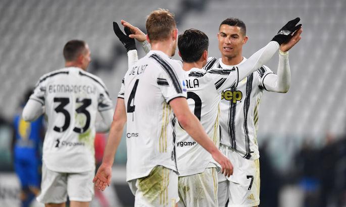 Роналду забил 20-й гол в Серии А в этом сезоне - ВИДЕО