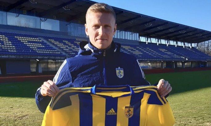 Украинский полузащитник, который играл за Атлетико, переехал в Латвию