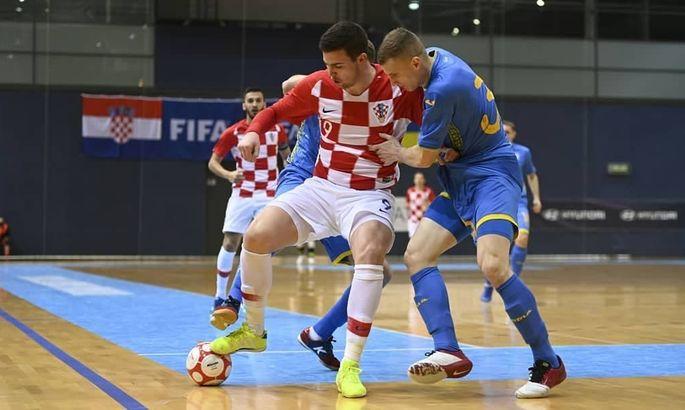 Футзал. Хорватия - Украина 3:2. Видео голов и обзор матча