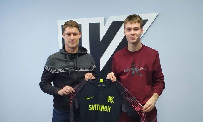 Колос подписал контракт с игроком молодежки Ворсклы