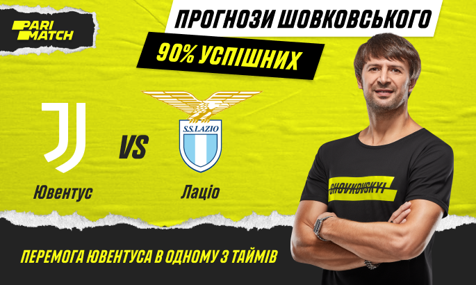 Прогноз Олександра Шовковського на матч Ювентус- Лаціо