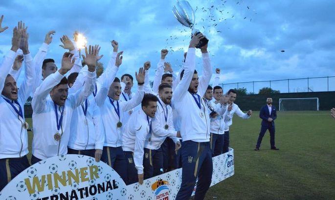 Украинская молодежка в конце марта примет участие в международном товарищеском турнире