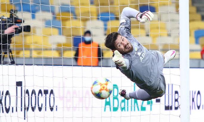 Бойко отстоял свой 40-й сухой матч за Динамо